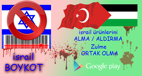 android israil boykot